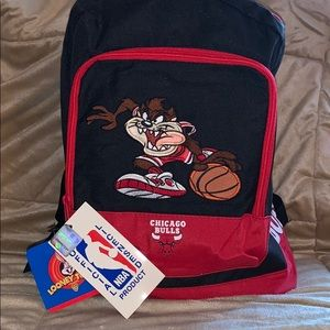 🎁 HOST PICK 💰Backpack offic.NBA WB auth. vintage